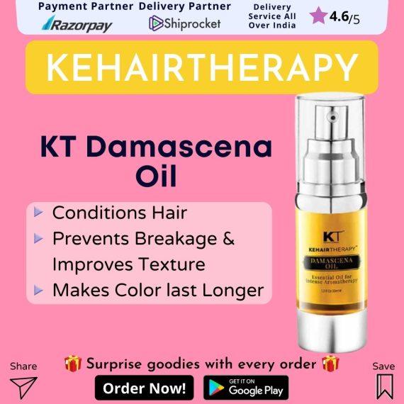 KT Kehairtherapy Damascena Oil