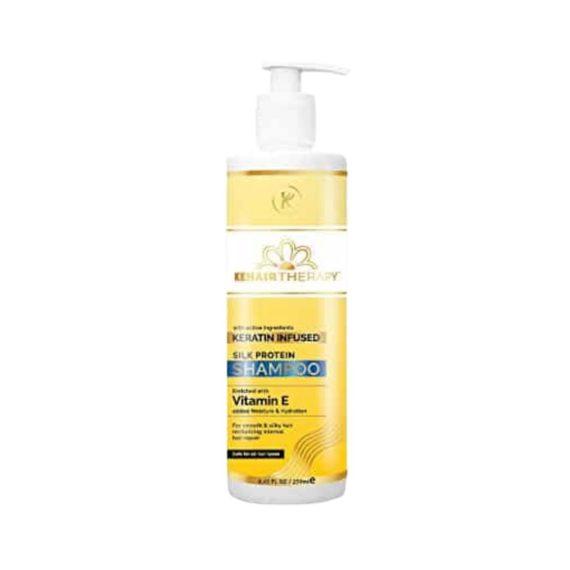 KT Kehairtherapy's Silk Protein shampoo