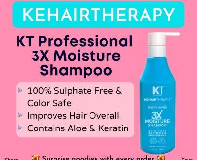 KT Professional Kehairtherapy 3X Moisture Shampoo