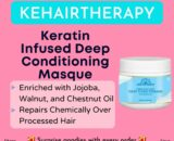 Kehairtherapy Keratin Infused Deep Conditioning Masque