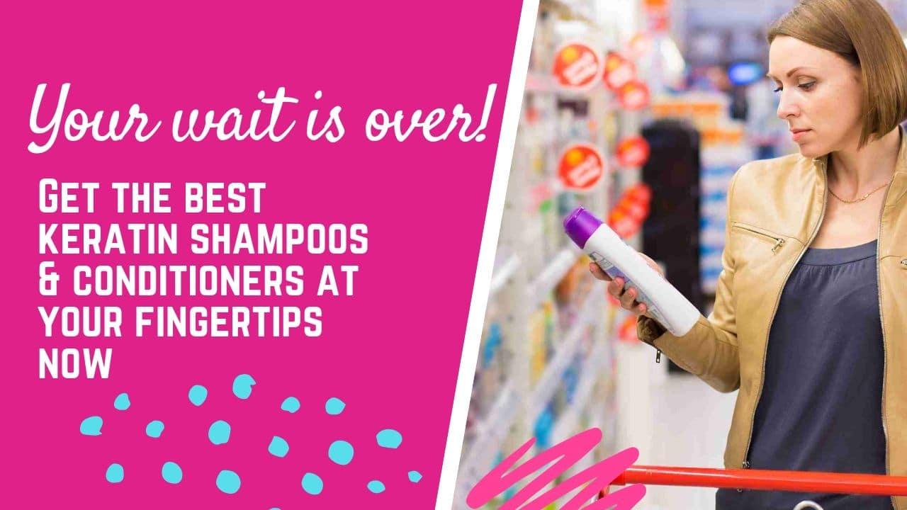 best keratin shampoos in india