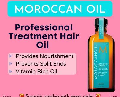 moroccanoil treatment hair oil