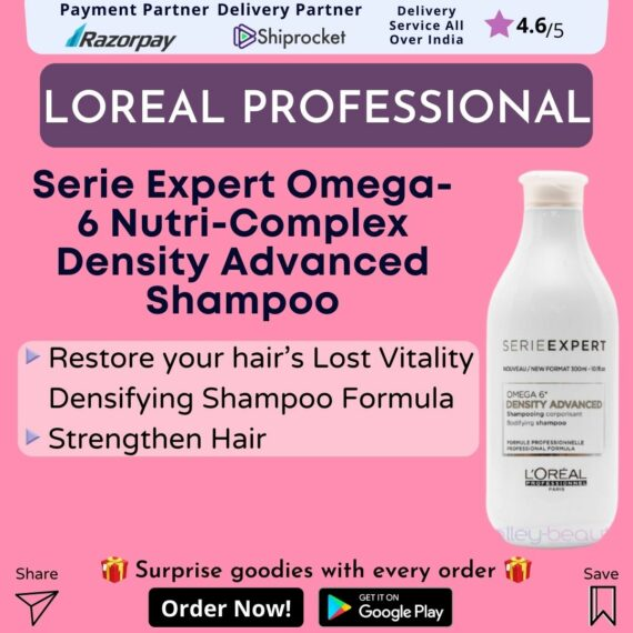LOreal Paris Serie Expert Omega-6 Nutri-Complex Density Advanced Shampoo