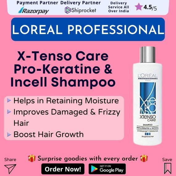 LOreal Professionnel XTenso Care Pro-Keratin and Incell Shampoo & Masque